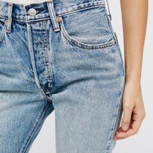 "LEVI""S (FREE PEOPLE) 501 Skinny Jeans"